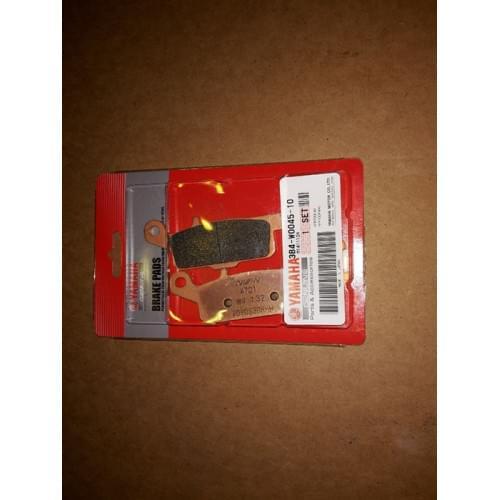 Колодки тормозные правые передние YAMAHA 3B4-W0045-10-00