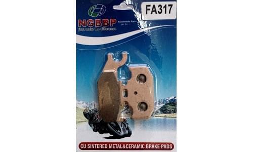 Тормозные колодки NGBBP для BRP G1 705600349 705601147 FA317
