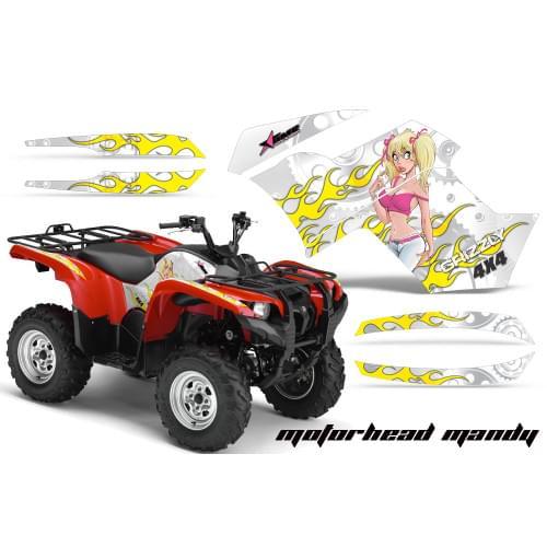 Графика для Yamaha Grizzly 550/700 (Motorhead Mandy)