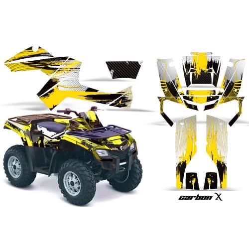 Комплект графики AMR Racing Carbon X (BRP ОUTLANDER G1)