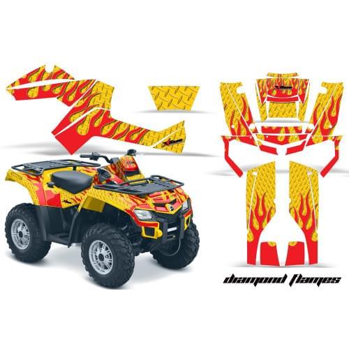 Комплект графики AMR Racing Diamond Flames (BRP ОUTLANDER G1)