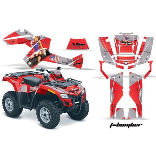 Комплект графики AMR Racing I-Bomber (BRP ОUTLANDER G1)