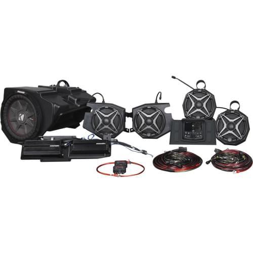 Премиальная акустическая аудио система с камерой заднего вида Can-am Maverik X3 SSV WORKS X32-5A1