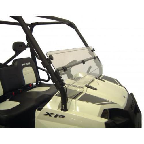 Короткое, откидное ветровое стекло для Polaris Ranger 800
